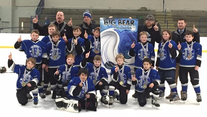 The Fremont Ice Wolves earned a tourney crown in Detroit.