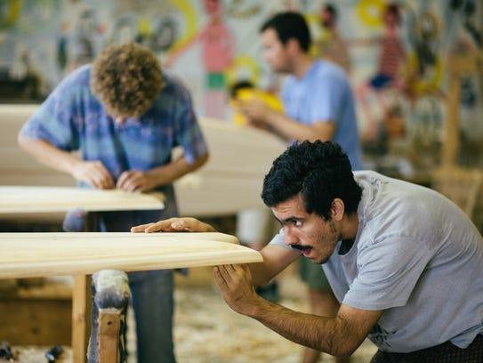 Grain Surfboards will host a board building workshop