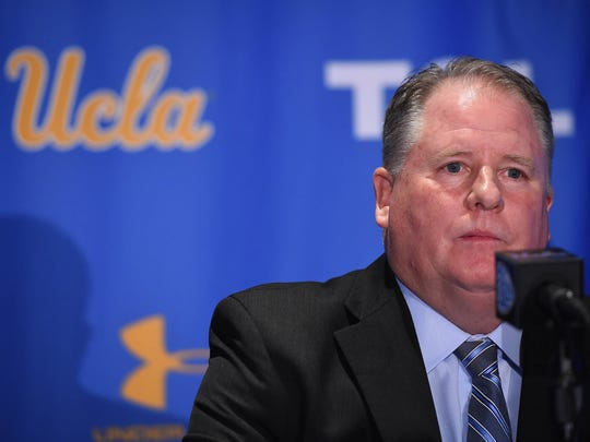 UCLA football instantly matters again with hiring of