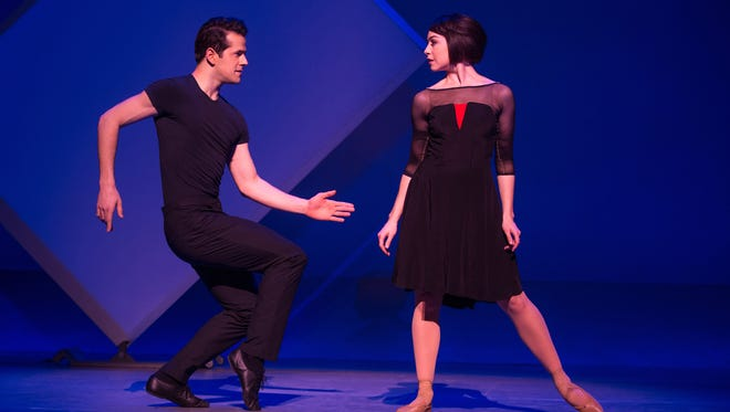 "Robert Fairchild and Leanne Cope in ""An American in Paris"" on Broadway."
