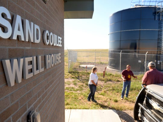 The town of Sand Coulee has new water storage, a computerized pump house, two new wells and new service lines thanks to Montana DEQ's Abandoned Mine Lands Program.