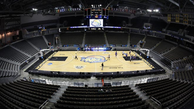 BB&T Arena, then known as The Bank of Kentucky Center, hosted the 2012 NCAA Division II Elite Eight. The UC men's basketball team will play there next season.