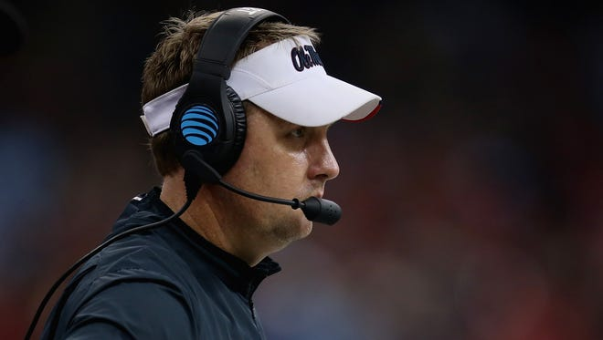 Ole Miss coach Hugh Freeze will open spring ball with his team Tuesday.
