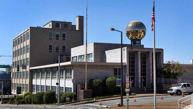 Proposals are due today for the former Tennessee Supreme Court building at Locust Street and Cumberland Avenue in downtown Knoxville.