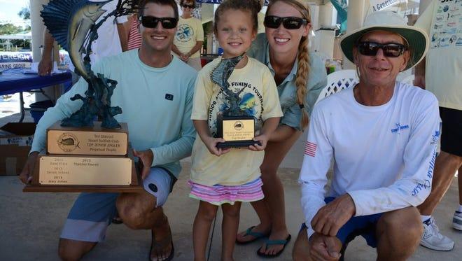 The 39th annual Junior Angler Tournament for the Stuart Sailfish Club will fish Aug. 11-12.