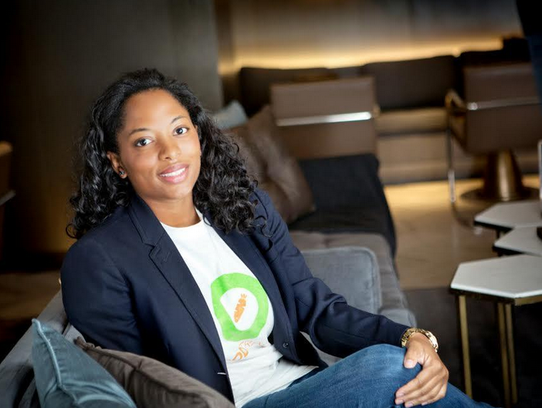 Riana Lynn runs a tech start-up in Chicago called FoodTrace.