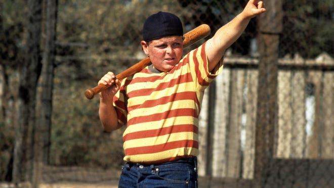 """The character Hamilton Porter calls his shot in the 1993 movie """"The Sandlot,"""" and now he'll be part of a bobblehead produced by the Milwaukee Brewers as part of an August theme night centered around the 25th anniversary of the film."""