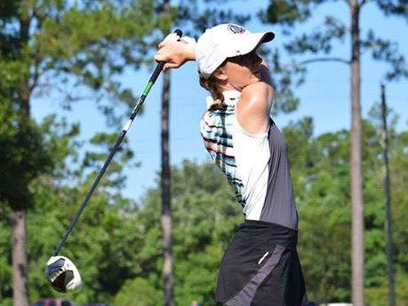 Catholic High's Madelyn Dimitroff was chosen as one of 81 junior players in the national First Tee program to play in the PGA Tour's Champions Tour Nature Valley First Tee Open at famed Pebble Beach on Sept. 11-18.