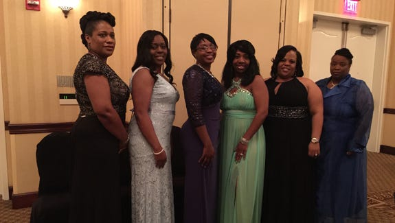 """She gets it from her mama! """"Debutante Moms"""" prove that confidence, beauty and poise are in the DNA during the Delta Sigma Theta Sorority, Inc. Pensacola Alumnae Chapter 47th Annual Debutante Cotillion."""