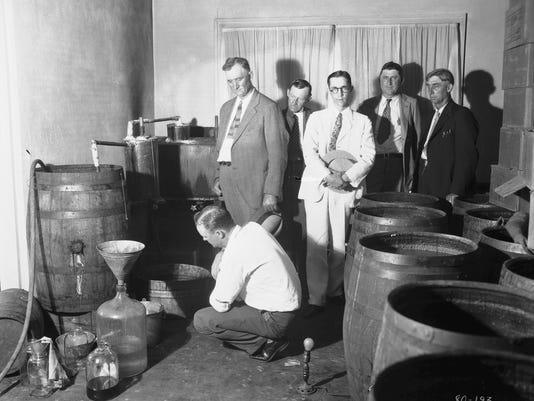 Whiskey still bust Chatham Rd