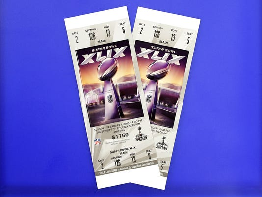 Image result for super bowl tickets