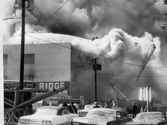 ROCHESTER FIRES--1961 THRU