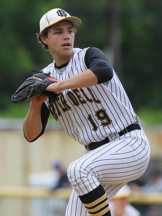 The Bergen County Tournament baseball Quarterfinals --