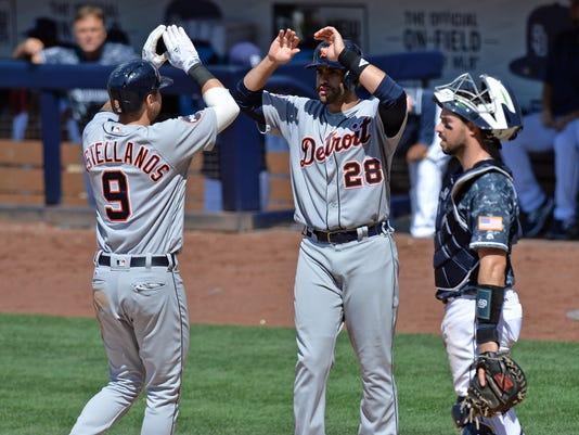 MLB: Detroit Tigers at San Diego Padres