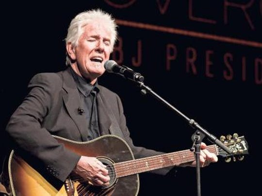Graham Nash performs at the Newberry Opera House in February.