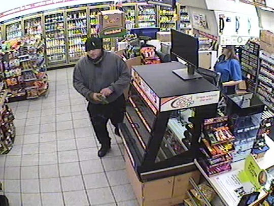 One of two men wanted in robbery of Speedway store