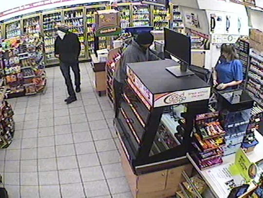 Two men wanted in robbery of Speedway store, 1300 W.