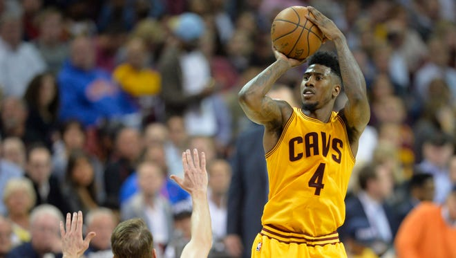 Cleveland Cavaliers guard Iman Shumpert (4) has improved offensively to go along with his strong defense.