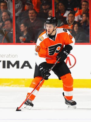 Jordan Weal and the Flyers are trying to get better at scoring off the rush instead of creating from their defensemen.
