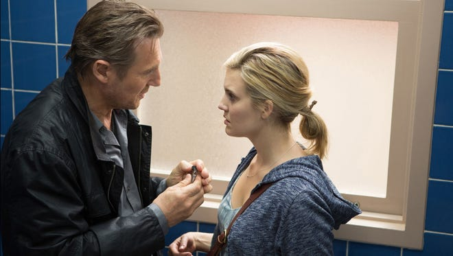 'Taken 3,' with  Liam Neeson and Maggie Grace, was No. 1 at the box office this weekend.