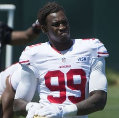 LB Aldon Smith was a first-round pick of the 49ers in 2011 out of Mizzou.