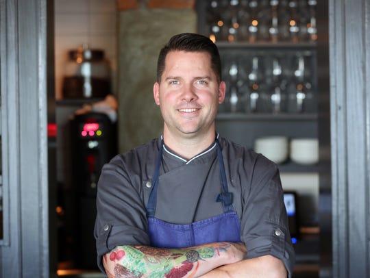 Butchertown Grocery chef Bobby Benjamin. Aug. 20,