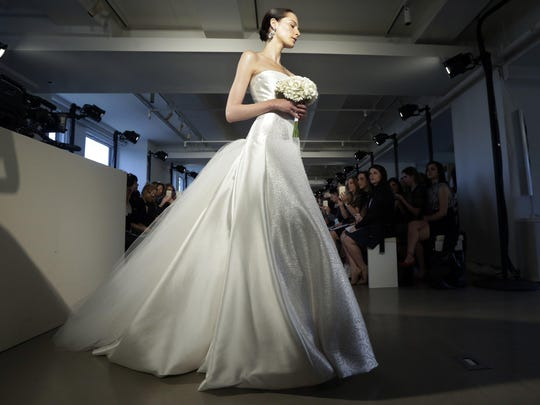 Peter Copping at Oscar de la Renta featured gowns with