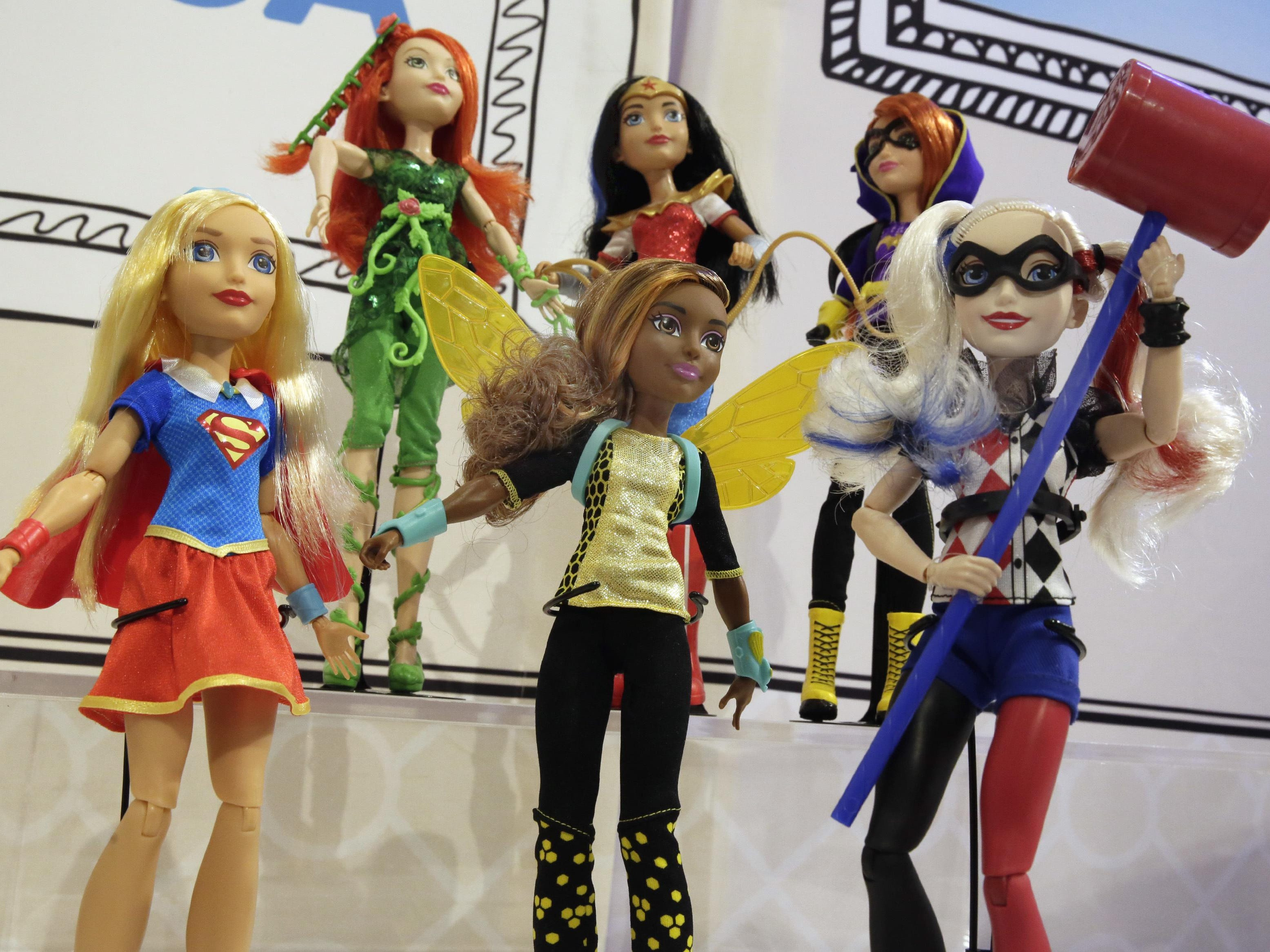 """Mattel DC Super Hero Girls 6/"""" Action Figure Variety Available"""
