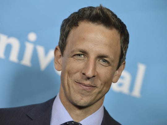 "Seth Meyers, Myers, who has been among the most vocal critics of President Donald Trump, tweeted that he'd ""love"" to have Trump on his NBC show, in response to one of his messages."