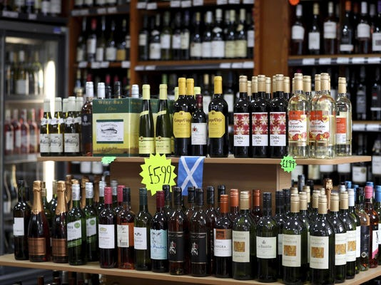Britain Cheap Booze Ban