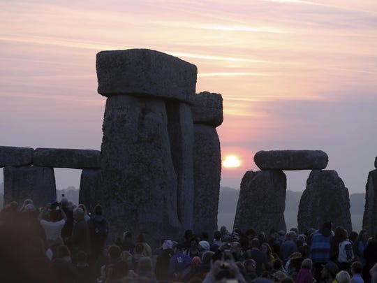 The summer solstice is celebrated in various places