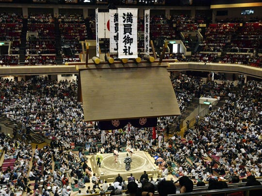 Plans for U.S. President Donald Trump to check out the ancient Japanese sport of sumo wrestling during a state visit are raising security issues for organizers.
