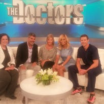 Jill Weimer, left, of Sanford Health on The Doctors.