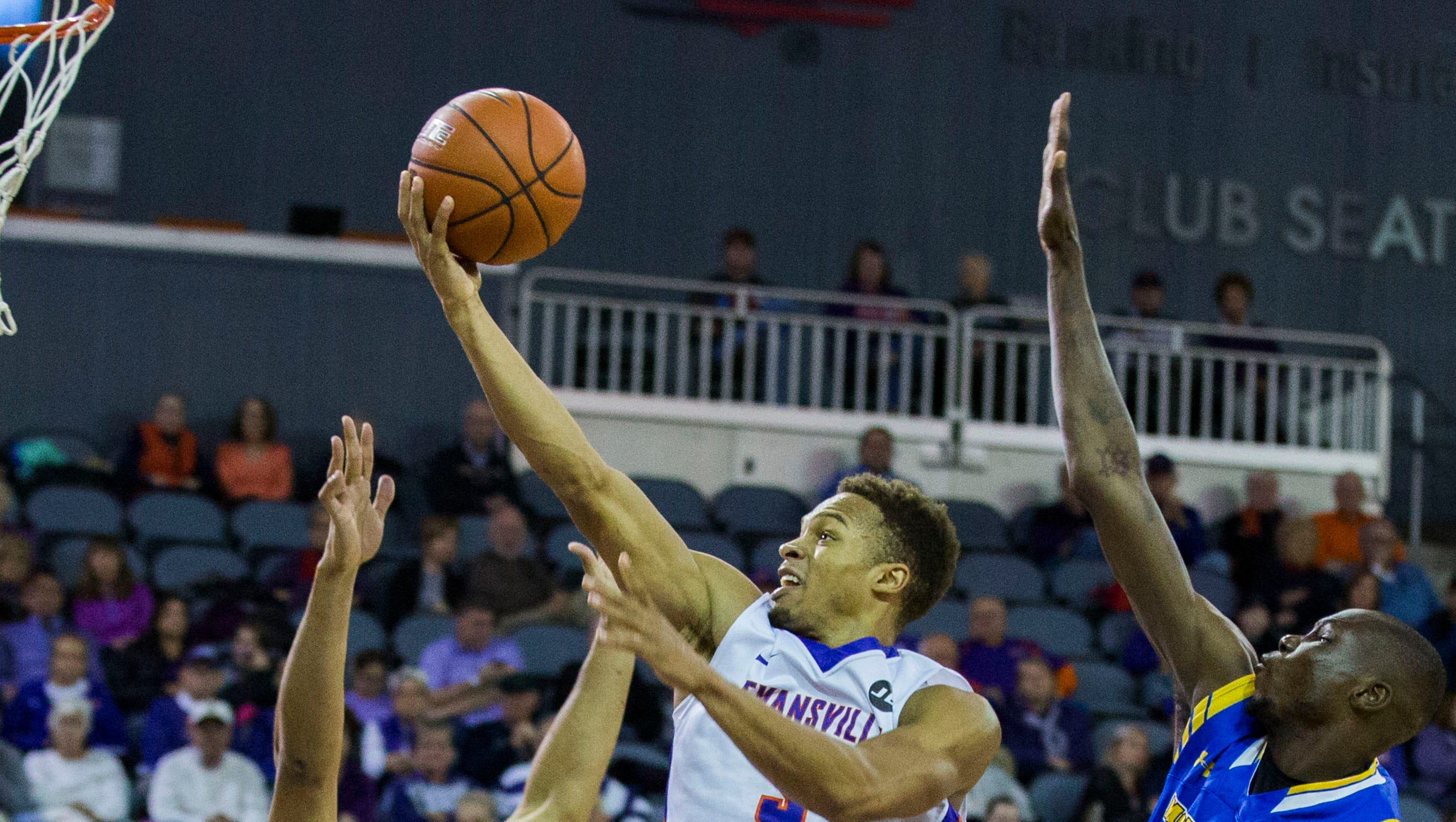 evansville men View the latest men's basketball team news, stats, 2018 schedule & team leaders for the evansville purple aces.