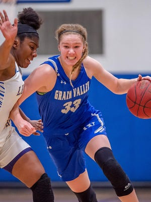 Grain Valley's Grace Slaughter has been named as one of the 16 finalists for the USA Basketball Women's U16 National Team during trials this week in Indianapolis.