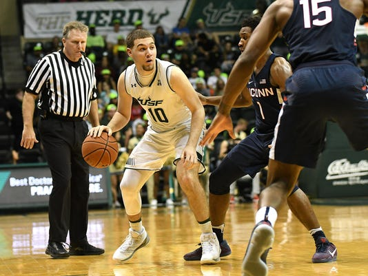 NCAA Basketball: Connecticut at South Florida