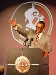 Florida State Seminoles new head football coach Willie