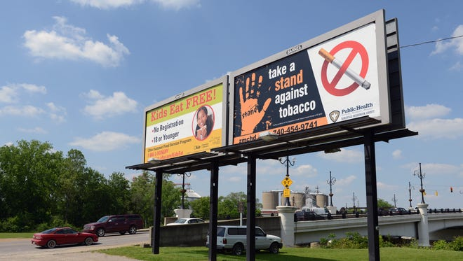 West Muskingum High School students have organized a STAND campaign to raise awareness of the dangers of using tobacco products. The group has placed six bilboards around Muskingum County, including one near the Y Bridge on West Main Street, to help spread their message.