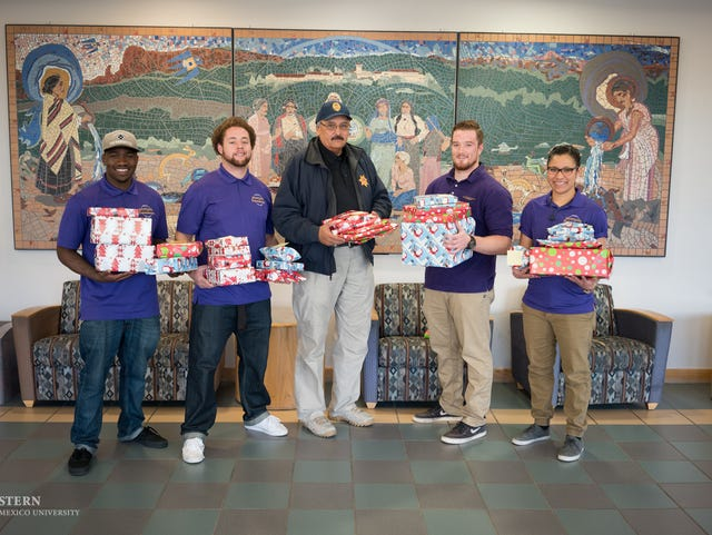 WNMU, detention center offer gifts to inmate's kids
