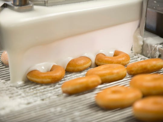 Glazed doughnuts remain the top seller at Krispy Kreme, which is opening in Fort Myers this fall.