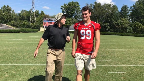 Wade Hampton senior Will Edwards is featured in this