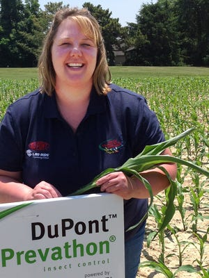 Tamra Herschbach, agriscience teacher at Yerington High School and 2014 NATAA graduate Ambassador, will bring the latest in teaching techniques to local science classrooms after a recent in-the-field study at DuPont Chesapeake Farms in Chestertown, Md.