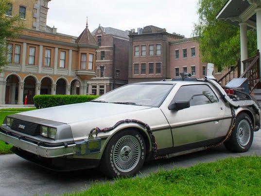 XXX DELOREAN TIME MACHINEBACK TO THE FUTURE 360092.JPG USA CA