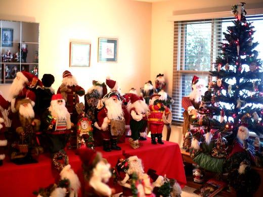 Choosing favorites is difficult for santa collector