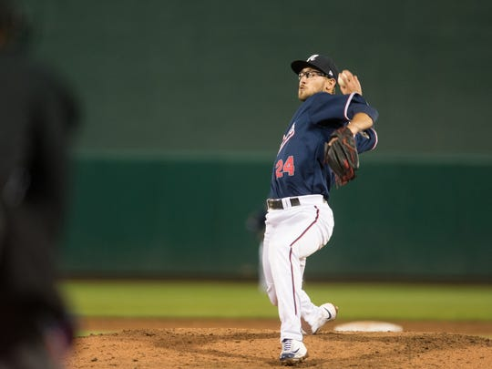 Braden Shipley allowed just four baserunners over seven innings while striking out eight in his last start.