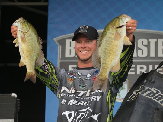 Jonathan VanDam of Kalamazoo led the Michigan anglers