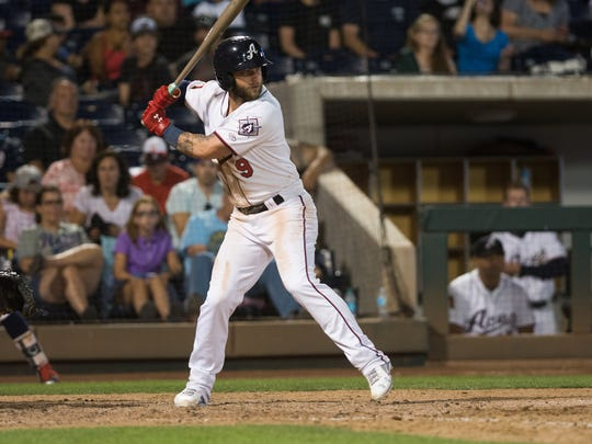Reno's Christian Walker was named the Pacific Coast League's Most Valuable Player.