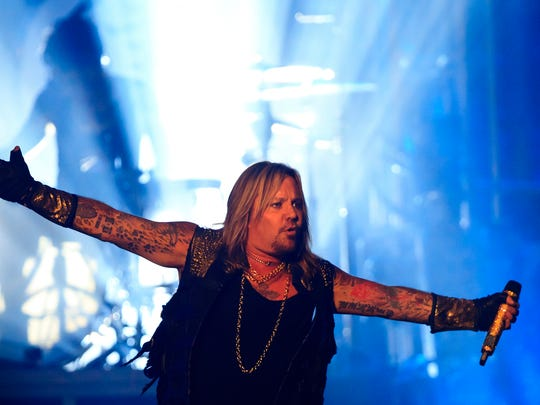 Vince Neil launched a solo career in 1993 but reunited with Mötley Crüe four years later.