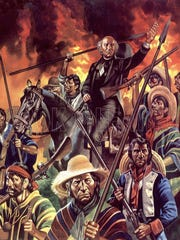 Father Miguel Hidalgo y Costilla mobilized an army
