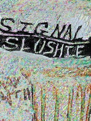 """Karl Erickson, """"Signal Slushie."""""""